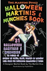 The Martini Diva's Halloween Martinis & Munchies Book Paperback