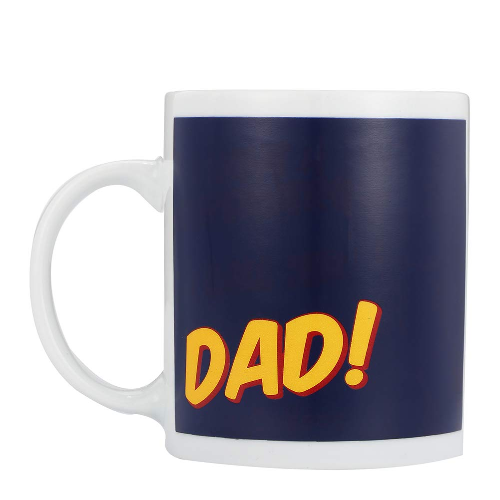 New Dad Coffee Mug 11oz Funny Ceramic Magic Heat Color Changing//Magic Coffee /& Tea Cool Heat Changing Sensitive Cup 11 oz,Drinkware Ceramic Mugs Morning Birthday Christ DAD+MOM