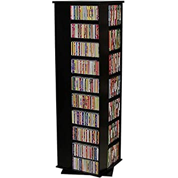 Venture Horizon Revolving Media Tower 1000 Black Oak