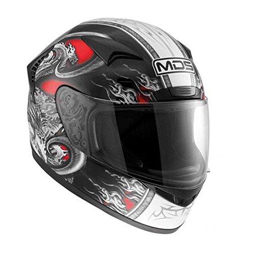 AGV Motorradhelm New Sprinter MDS E2205 Multi, Rot (Creature Rot), S