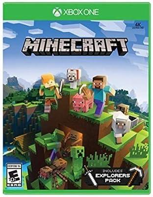Amazon com: Minecraft Explorer's Pack – Xbox One: Microsoft