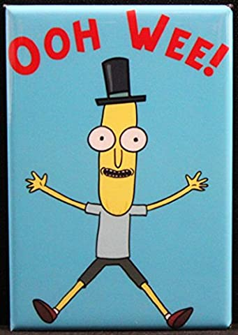 Mr. Poopy Butthole OOH WEE! Refrigerator Magnet. Rick and Morty - Collectible Refrigerator Magnet