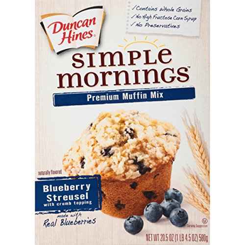 (Duncan Hines Muffin Mix, Blueberry, 20.5 Ounce)