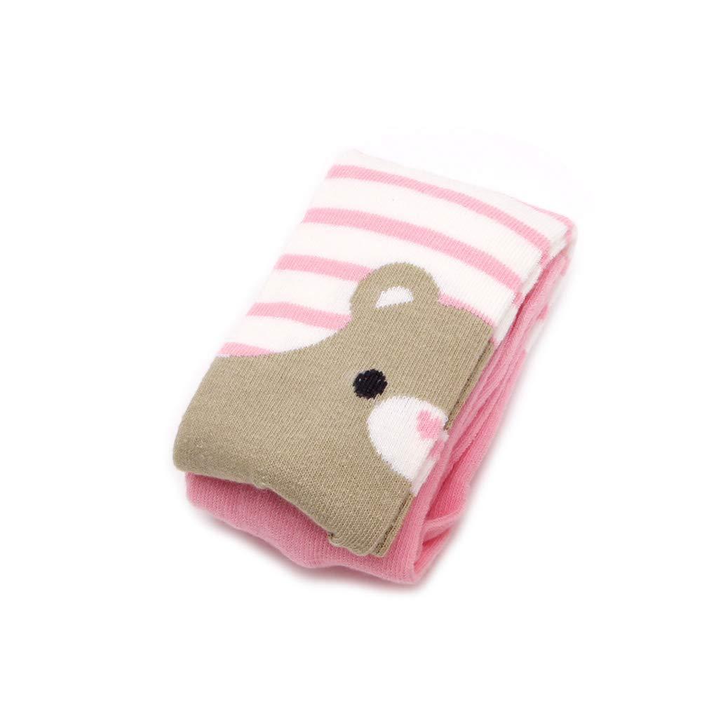 Qiuxiaoaa Toddler Baby Kid Fille Ours Collants en Coton Chaussettes Bas Pantalons Bas Collants Chaud Pantalon Long Automne Et Hiver Lapin Un Petit