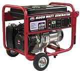 All Power America APGG6000, 6000W Watt Generator, Portable Gas Generator for Home Use Emergency Power Backup, RV Standby, Storm Hurricane Damage Restoration Power Backup, EPA Certified