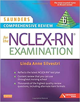 Image result for saunders nclex comprehensive review