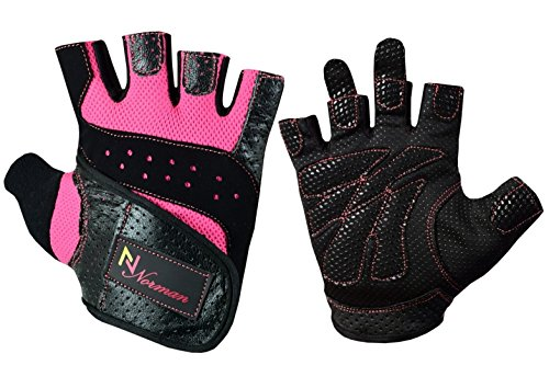 Gel-Handschuhe Fitness Gym Gewichtheben Workout Training Radfahren Damen/Damen L