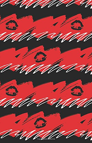 Download Journal Notebook Black Lips - Abstract Black and Red Pattern: Blank Journal To Write In, Unlined For Journaling, Writing, Planning and Doodling, For ... To Carry Size (Plain Journal) (Volume 60) PDF