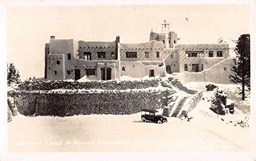 Colorado Springs Colorado Cheyenne Lodge Real Photo Antique Postcard K80896 ()