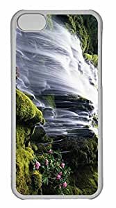 iPhone 5C Case, Personalized Custom Waterfall 70 for iPhone 5C PC Clear Case