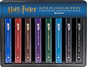 Harry Potter Colección Steelbooks [Blu-ray]