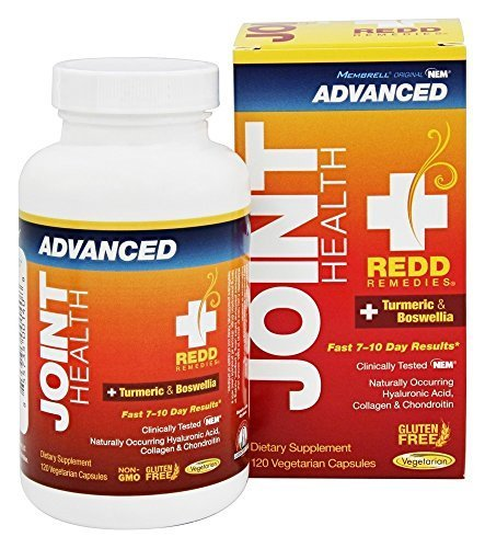 Redd Remedies Joint Health Advanced - Natural Joint Health Product - Supports Healthy Inflammatory Response - Unique Joint Health Formula - 120 Vegetarian Capsules by Redd Remedies
