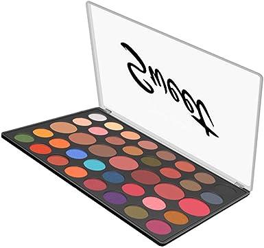 Cloud ROM 39 Colores Paleta De Sombras Ojo Kit Maquillaje Set Profesional Cajade Sombra de Ojos a Prueba Agua Polvo la Placa Mate Maquillaje cosmético Paleta en Bandeja del Reflejo (Multicolor): Amazon.es: