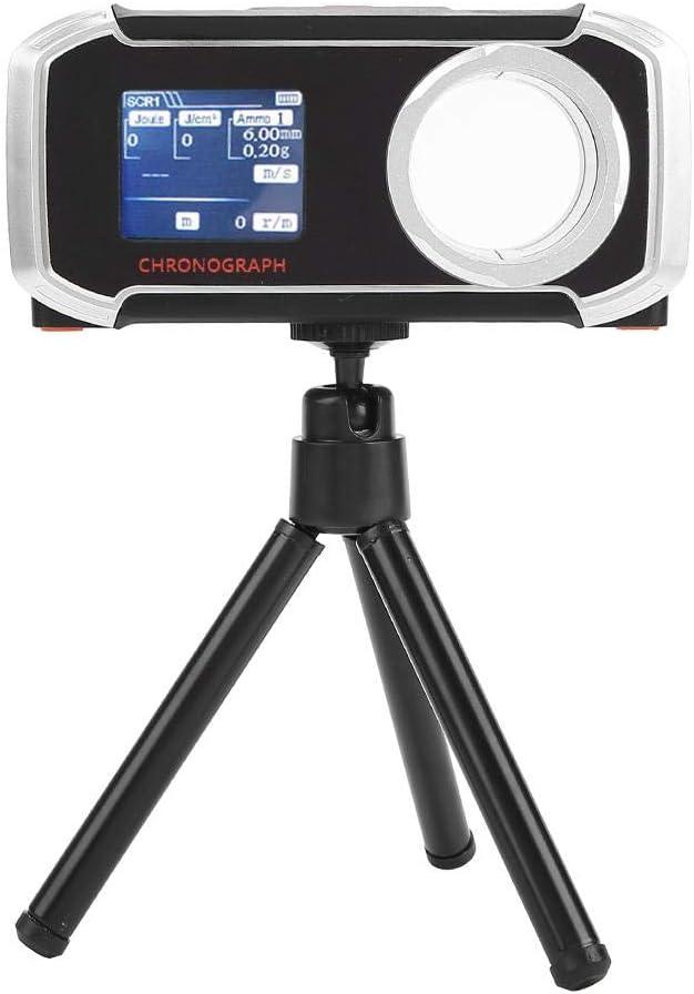 Probador de Velocidad, LCD al Aire Libre Airsoft Ball Speed Tester Paintball Bluetooth BB Shooting Cronógrafo Tester Accesorio de Pistola de Aire para Air Soft Tactical