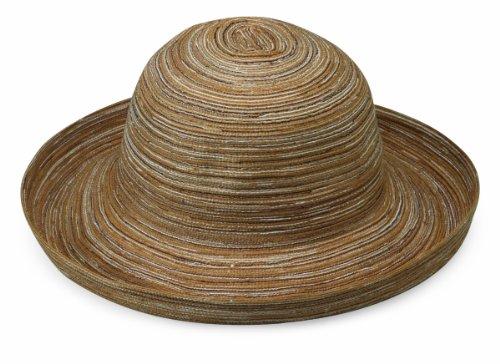 Wallaroo Hat Company Women's Sydney Sun Hat - Lightweight, Packable, Modern Style, Designed in Australia, Camel (Live Simply Hat)