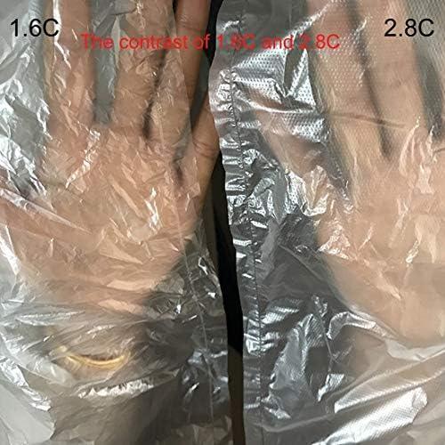 Xingrui Air Volumn Cushion Bag 100 PCS 1.6C Sac d\'emballage en plastique PE étanche à l\'humidité et à la poussière, Taille: 150cm x 150cm Xingrui