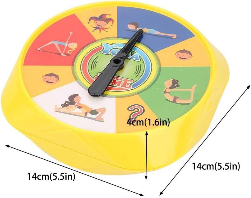 Zerodis Yoga Brettspiel 54 Yoga Pose Spielkarten Eltern Kind Interaktive Flexibilit/ät /Übung Desktop Spielzeug Fr/ühe Bildung Lernen Intelligente Spielzeug Geschenke f/ür Kinder