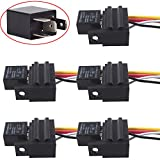 ESUPPORT Heavy Duty Car Automotive Relay 12V 30A