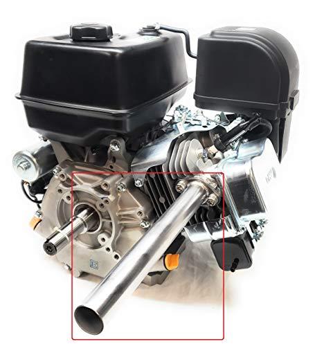 Header Exhaust Pipe for Go Kart Predator 301cc & 420cc, GX Hondas, Mud motors.