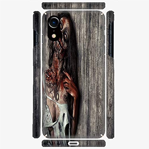 Phone Case Compatible with 3D Printed iPhone X/XS DIY Fashion Picture,Sacrifice Fantasy Mystic Night Halloween Image,Personalized Designed Hard Plastic Cell Phone Back Cover Shell -