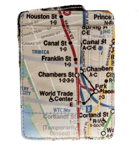 New York Subway Map Wallet.Shagwear Retro Magic Trick Wallet New York City Subway Map Buy