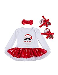 Highdas Baby Girl Rompers Costume Baby Christmas Clothing Sets