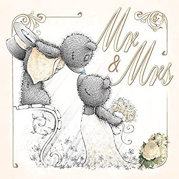 3d holographic mr mrs me to you bear wedding card by carte blanche 3d holographic mr mrs me to you bear wedding card by carte blanche greetings ltd m4hsunfo