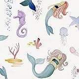 Carousel Designs Mermaids and Starfish Crib