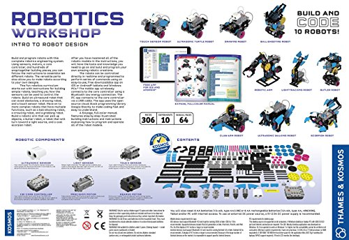 Thames & Kosmos Robotics Workshop Kit by Thames & Kosmos (Image #13)