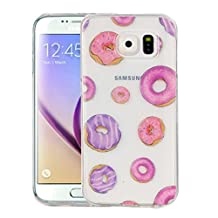 For cellphone Cases, For Samsung Galaxy S6 / G920 Macarons Pattern IMD Workmanship Soft TPU Protective Case ( SKU : SAS0149J )