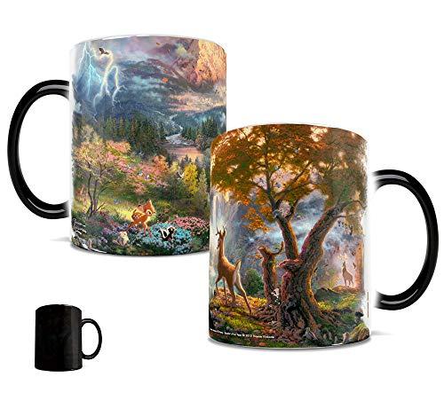 (Morphing Mugs Disney's Bambi - Thomas Kinkade Art - Heat Reveal Ceramic Coffee Mug - 11 Ounces)