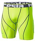 Tesla Men's Compression Shorts Baselayer Cool Dry