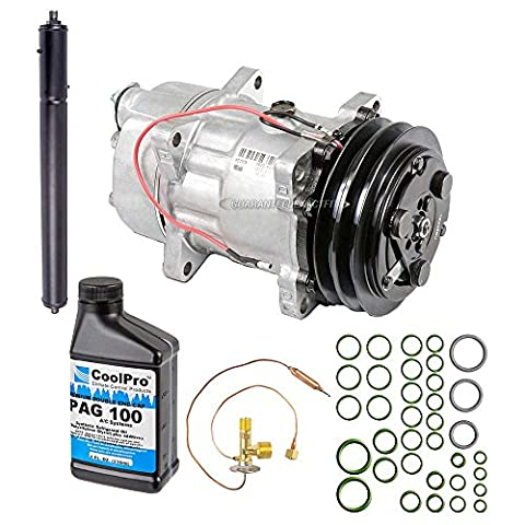 New Genuine OEM AC Compressor & Clutch + A/C Repair Kit For Jaguar XJ12 & XJR - BuyAutoParts 60-84378RN - Jaguar Xj12 A/c Compressor