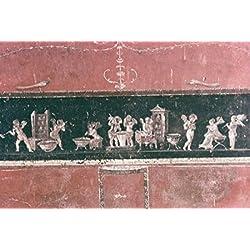 Amoretti The Goldsmith 63-79 AD Roman Art Fresco Casa dei Vettii Pompeii Italy Poster Print (24 x 36)
