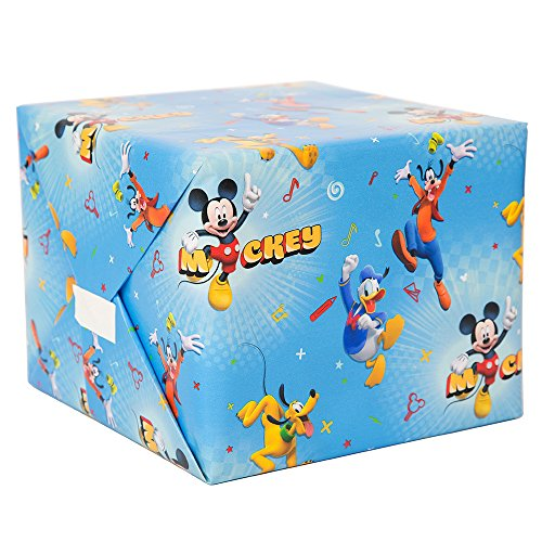 (Unique Mickey Roadster Party Gift Wrap, 30