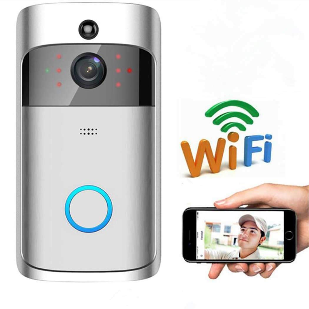 Mandii Video Wireless Doorbell WiFi HD Home Security Wide Angle Night Vision Doorbell Kits by Mandii (Image #2)