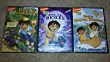 Go Diego Go! 3 DVD Lot! Moonlight Rescue/Great Gorilla/Diegos Magical Missions