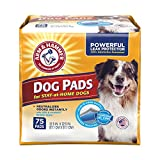 Arm & Hammer Ultra Absorbent Adult Dog Pads, 75...