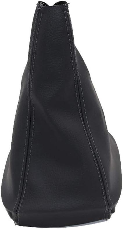 pour Soufflet pour Opel Corsa D LILIGUAN Pommeau de Levier de Vitesses de Voiture /à 5 Vitesses avec Cache-Botte Noir