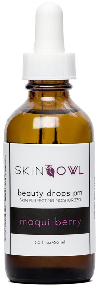 Skin Owl - Organic/Raw Maqui Berry Beauty Drops PM (2 oz) by Skin Owl (Image #1)