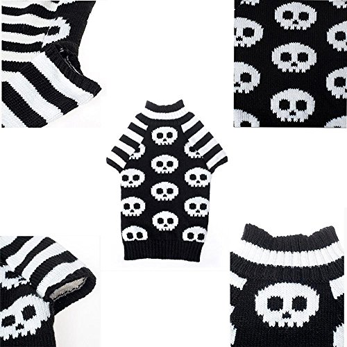 Aurorax Dog Halloween Fashion Comfortable Pet Clothes Festival Dress Sweater Knitwear (S) ()