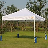 ABCCANOPY 130 LBS Outdoor Pop Up Canopy Tent Gazebo