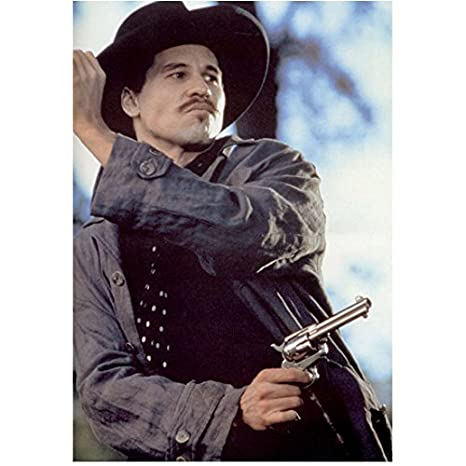 Val Kilmer In Tombstone As Doc Holliday Grey Jacket And Silver