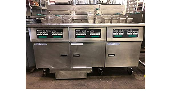 Amazon.com: Pitco SSH75-3FD Solstice Supreme High Efficiency Prepackaged Gas Fryer System with Solstice Filter Drawer System (3) 75 lb Tank 315,000 BTU: ...
