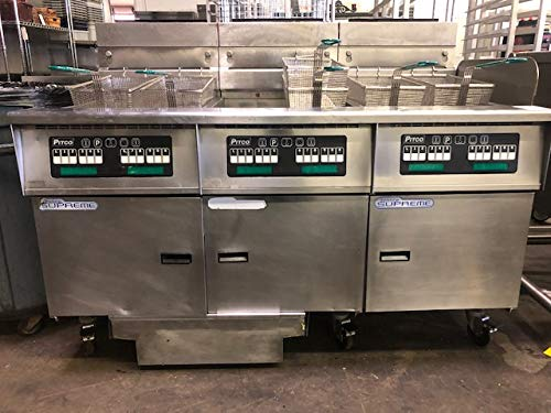 ... Solstice Supreme High Efficiency Prepackaged Gas Fryer System with Solstice Filter Drawer System (3) 75 lb Tank 315,000 BTU: Industrial & Scientific