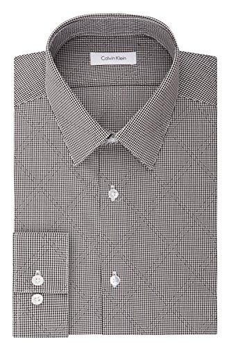 Calvin-Klein-Mens-Non-Iron-Stretch-Slim-Fit-Mini-Check-Dress-Shirt