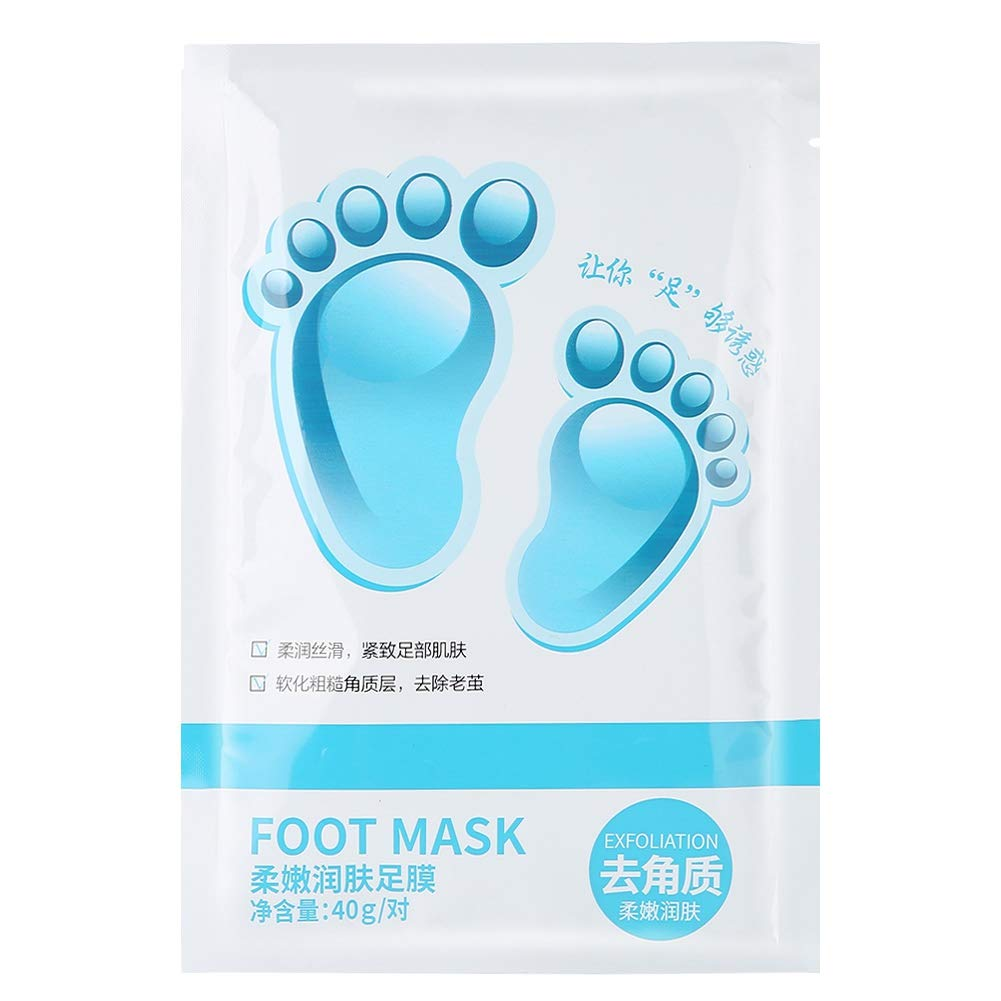 2PCS/Set Foot Peel Mask Dead Skin Remove Cuticles Plant Extract Moisturizing Foot Skin Mild Exfoliating Repair Dry Foot Skin Sonew