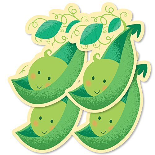Sweet Pea in a Pod - Pea Pod Decorations DIY Baby Shower or First Birthday Party Essentials - Set of (Peapod Baby Shower Theme)