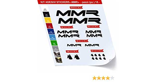 Pegatinas Bicicleta MMR Kit Pegatinas Stickers 18 piezas – Elige ...