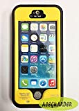 Aceguarder Worldwide Exclusive Design Support Iphone 5s Fingerprint Recognition Waterproof Dirtproof Snowproof Shockproof Cover Case for Protective Iphone 5s Underwater Gifts Outdoor Carabiner + Zeiss Lens Cleaning Paper (Aceguarder Brand) (Yellow)